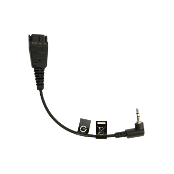 MOBILE QD TO 2.5 MM CORD (FOR NORTEL DECT 4027/4070 PHONES) (8800-00-46)