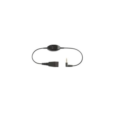 MOBILITY ADAPTER (JABRA LINK HOOK- QUICK DISCONNECT TO 3.5 MM ADAPTER FOR IPHONES AND BLACKBERRY MODELS) (8800-00-87)